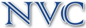 Site logo with letters NVC
